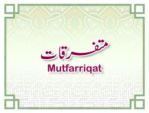 Mutafarriqat